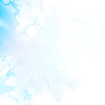 Astratto sfondo blu acquerello moderno