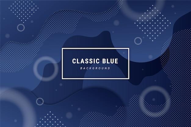 Astratto sfondo blu classico