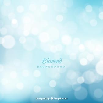 Astratto sfondo blu con effetto bokeh