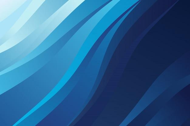 Astratto sfondo blu moderno