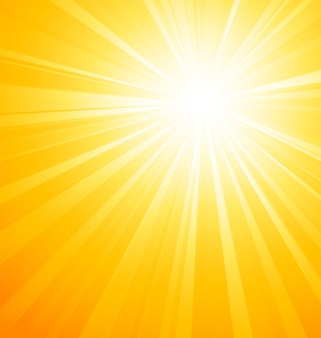 Astratto sfondo chiaro di sole