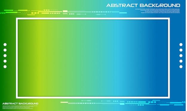 Astratto sfondo colorato composizione di forme fluide.