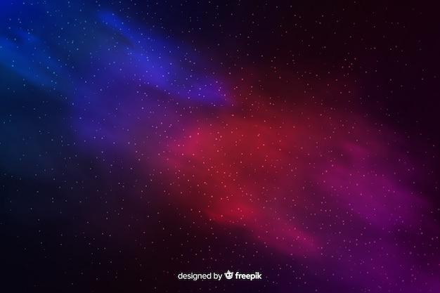 Astratto sfondo cosmico con stelle