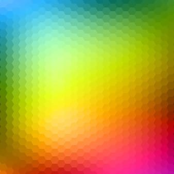 Astratto sfondo esagonale