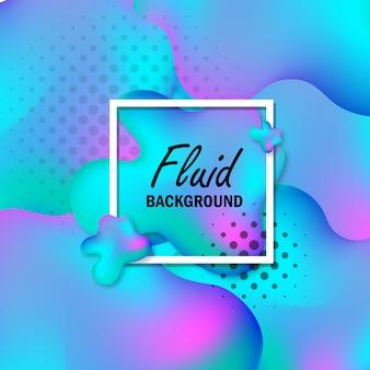 Astratto sfondo fluido