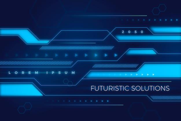 Astratto sfondo futuristico