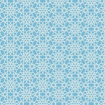 Astratto sfondo geometrico islamico