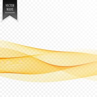 Astratto sfondo giallo elegante onda