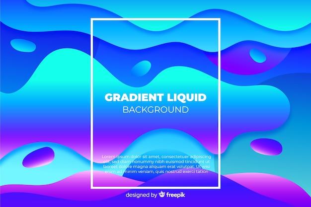 Astratto sfondo liquido