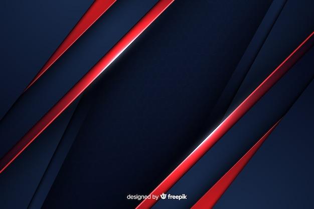 Astratto sfondo nero con linee diagonali
