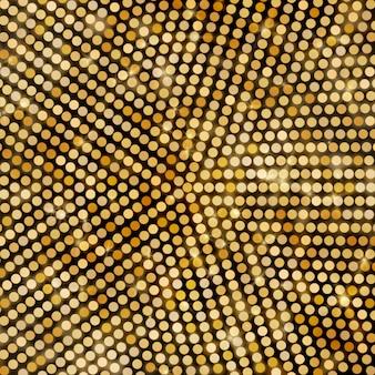 Astratto sfondo radiale scintillante