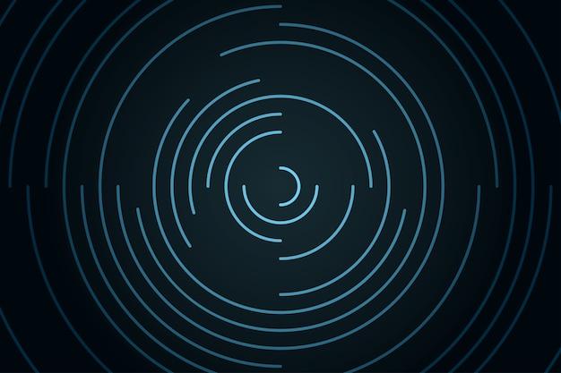 Astratto sfondo radiale vorticoso