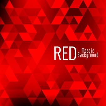 Astratto sfondo rosso mosaico