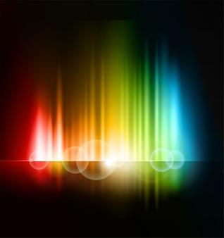 Astratto sfondo sfocato luce