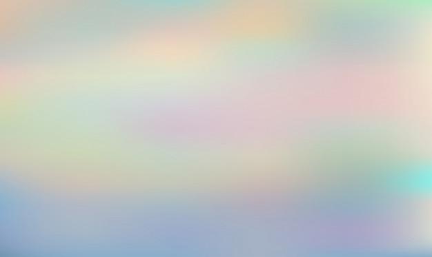 Astratto sfondo sfumato olografico