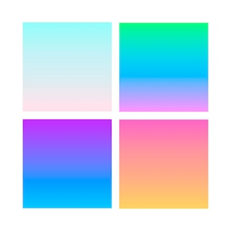 Astratto sfondo sfumato su viola, rosa e blu.