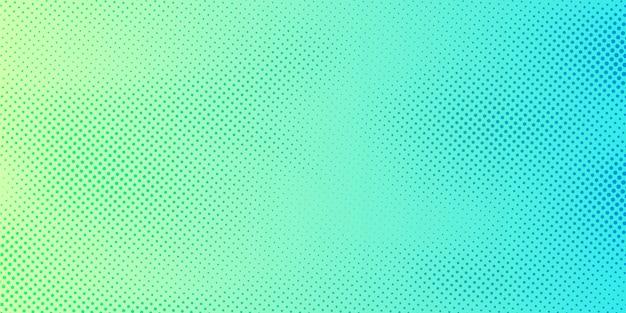 Astratto sfondo verde e blu brillante