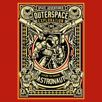 Astronaut outerspace exploration