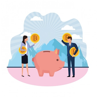 Attività di criptovaluta di moneybox