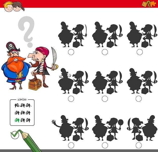 Attività di gioco educativo con i pirati