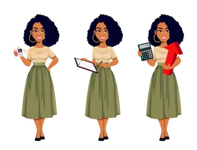 Attraente donna d'affari
