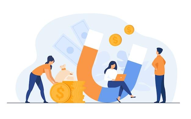 Attrazione di reddito e denaro