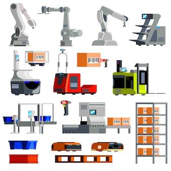 Attrezzature automatizzate per il magazzino