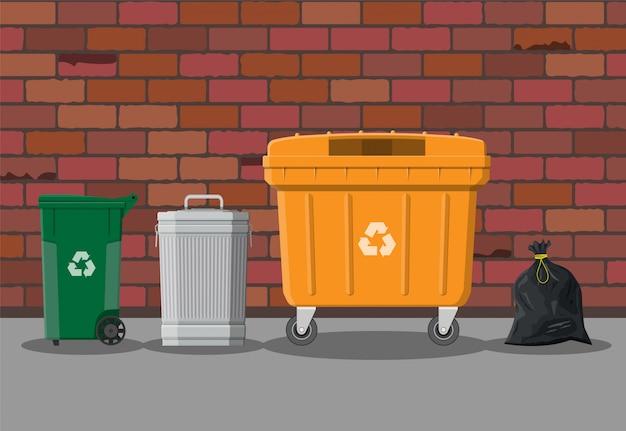 Attrezzature per il riciclaggio e l'utilizzo