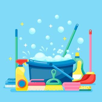 Attrezzature per la pulizia delle superfici con bomboletta spray