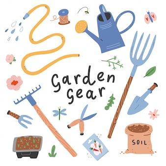 Attrezzi da giardinaggio e attrezzi