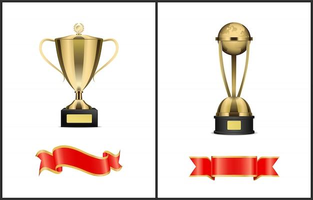 Attributi del premio vincitore del concorso o della competizione