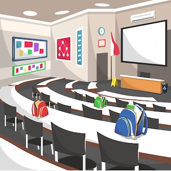 Auditorium college seminar school room