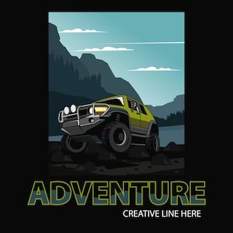 Auto avventura, estremo selvaggio