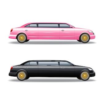 Auto di lusso in limousine