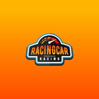 Auto logo design racing