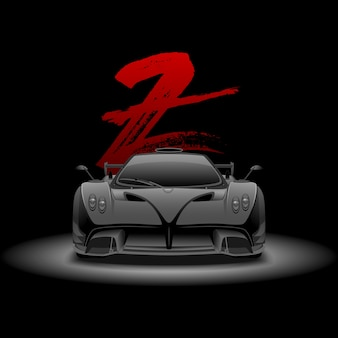 Auto sportiva supercar
