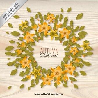 Autumn leaves sfondo