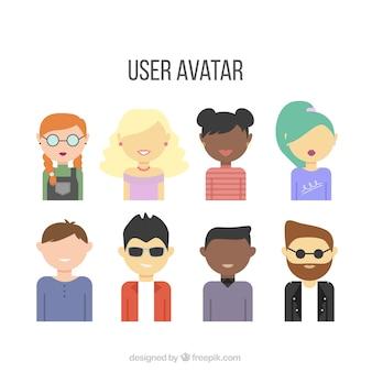 Avatar collezione utente divertente