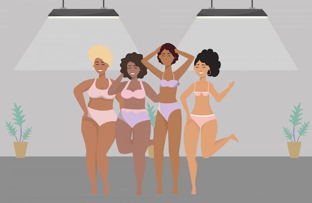 Avatar di donne in biancheria intima