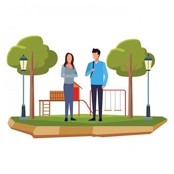 Avatar di giovane coppia