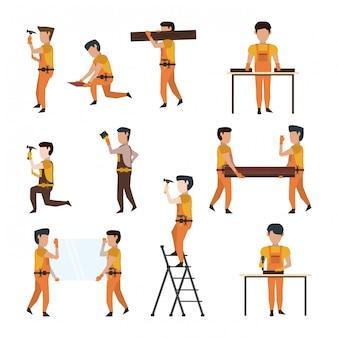 Avatar di lavoratori edili