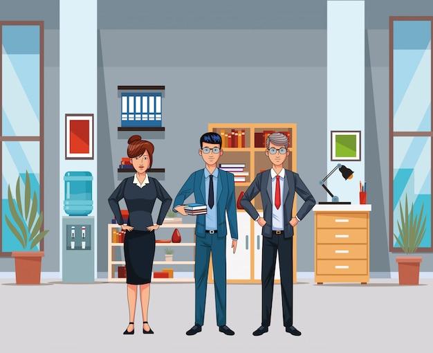 Avatar di persone d'affari
