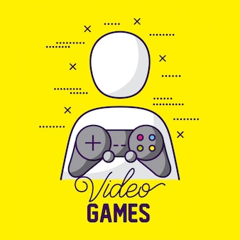 Avatar e controllo del giocatore, videogiochi