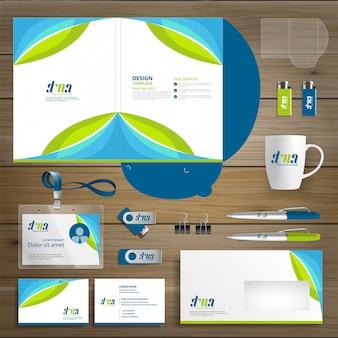Azienda di cartelle aziendali di tecnologia aziendale