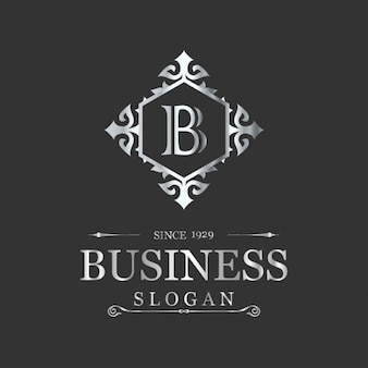 B busienss slogan logo