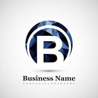 B simbolo logo