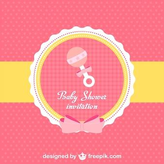 Baby shower invito