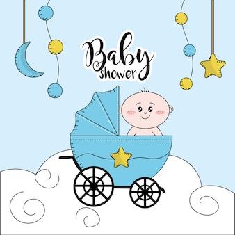 Baby shower per dare il benvenuto a un bambino in famiglia
