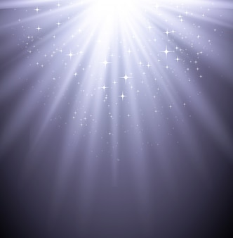 Backgroud leggero magico astratto con la stella