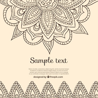 Background design indiano